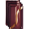 E58 studioline Maroon, Welle in Gold